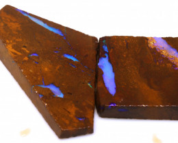 100cts Boulder Pipe Opal Prefinished Rubs  ADO-9404 - adopals