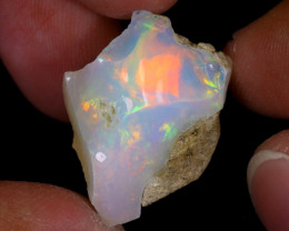16cts Natural Ethiopian Welo Rough Opal / WR8196