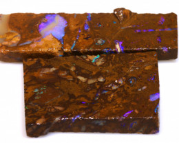 93cts Boulder Pipe Opal Prefinished Rubs  ADO-9420 - adopals