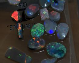 39cts Lightning Ridge Opal Rubs Parcel 21 pcs