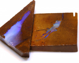 65cts Boulder Pipe Opal Prefinished Rubs  ADO-9428 - adopals