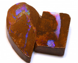 85cts Boulder Pipe Opal Prefinished Rubs  ADO-9431 - adopals