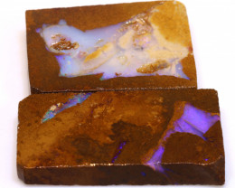 85cts Boulder Pipe Opal Prefinished Rubs  ADO-9432 - adopals