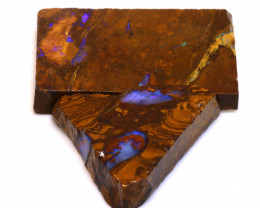 118cts Boulder Pipe Opal Prefinished Rubs  ADO-9433 - adopals