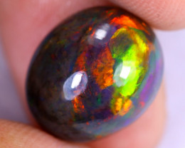 6.50cts Natural Ethiopian Welo Smoked Opal / NY2904