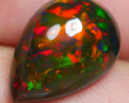 4.015 CRT BRILLIANT SMOKED FLOWER PLAY COLOR WELO OPAL-