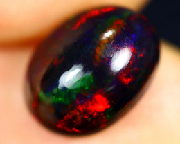 2.95cts Natural Ethiopian Welo Smoked Opal / HM2751