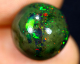 5.72cts Natural Ethiopian Welo Smoked Opal / HM2769