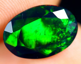 1.99cts Natural Ethiopian Welo Faceted Smoked Opal / HM2806