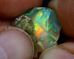 8.26Ct Multi Color Play Ethiopian Welo Opal Rough H0819/R2
