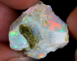 9cts Natural Ethiopian Welo Rough Opal / PA255