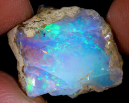 9cts Natural Ethiopian Welo Rough Opal / PA267