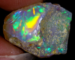 10cts Natural Ethiopian Welo Rough Opal / PA276