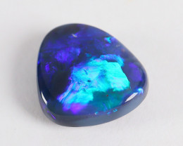 Lightning Ridge Australia - Solid Black Opal - 1.4 cts