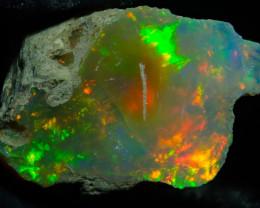 8.9ct Natural Ethiopian Welo Rough Opal