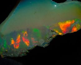 9.43ct Natural Ethiopian Welo Rough Opal