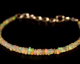 16.20 Crts Natural Ethiopian Welo Opal Bracelet 28