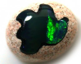 CABOCHON OPAL INLAY     3.10  CTS  R 1418