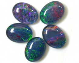 A PARCEL 5 PCS SELECTED GRADE TRIPLET OPAL 8 X 6 MM T903
