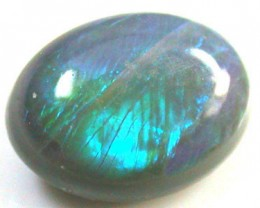 ROLLING GREEN FLASH   OPAL .85  CARATS   QO 2287