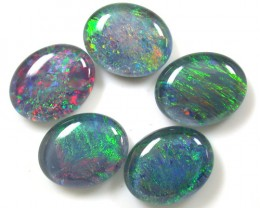 A PARCEL 5 PCS SELECTED GRADE TRIPLET OPAL 10X8 MM T1024