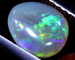 N6- 0.85 cts dark opal stone lightning ridge  TBO-A3550  TRUEBLUEOPALS