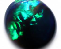 1.27 CTS LIGHTNING RIDGE BLACK OPAL WELL POLISHED  [PS711]