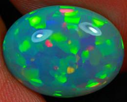 4.15 CT Dark Base!! Collector Grade Rare Natural Ethiopian Opal-MCC61