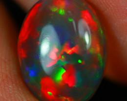 $500 2.95 CT Dark Base!!  Rare Natural Ethiopian Opal-MCC71