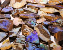 1.9kg Boulder opal Rough Parcel - downunderopals
