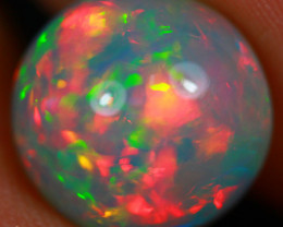 4.21 CT Redflash Pattern!! Rare Natural Ethiopian Opal-MCC116