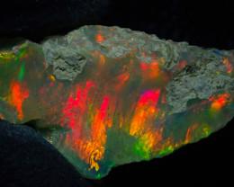 4.87ct Natural Ethiopian Welo Rough Opal