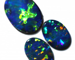 1.89 CTS COOPER PEDY OPAL DOUBLET PARCEL CALIBRATED [PS729]