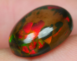 3.860 CRT BRILLIANT SMOKED FLOWER BEAUTY COLOR WELO OPAL-