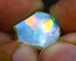 6.00Ct Multi Color Play Ethiopian Welo Opal Rough J1107/R2