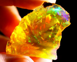 51cts Ethiopian Crystal Rough Specimen Rough / CR4705