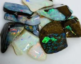 Gem Grade Winton Colourful Rough Boulder Opals #1965