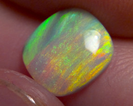 Stripy Rainbow!! 1.55ct Lightning Ridge dark Opal, No Reserve!