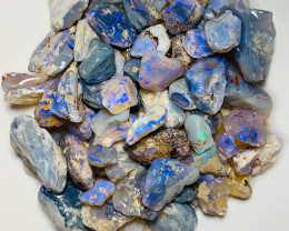 365 Cts Rough Dark Nobby Opals with Good Potential