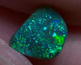 1.15cts Lightning Ridge Top Gem Black Opal, Amazing Galaxy pattern