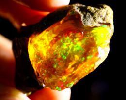 80cts Ethiopian Crystal Rough Specimen Rough / CR4736