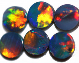 1.19 CTS CALIBRATED OPAL DOUBLET PARCEL  4x4mm [SEDA8076]