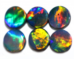 1.19 CTS CALIBRATED OPAL DOUBLET PARCEL 4x4mm  [SEDA8077]