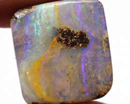 13 CTS  BOULDER OPAL TOP POLISH EO-1119