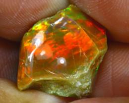 14.57Ct Multi Color Play Ethiopian Welo Opal Rough GN63/R2