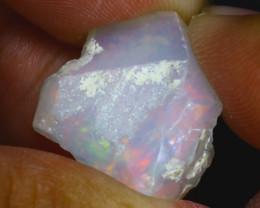 14.24Ct Multi Color Play Ethiopian Welo Opal Rough GN73/R2