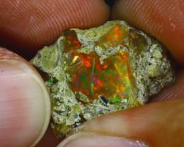 19.85Ct Multi Color Play Ethiopian Welo Opal Rough GN79/R2