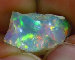 5.60Ct Multi Color Play Ethiopian Welo Opal Rough H1401/R2