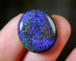 10.05 CT [SEE THE VIDEO] Gorgeous Rainbow Andamooka Matrix Stone