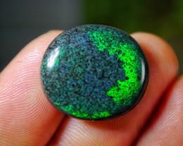 10.60 CT [SEE THE VIDEO] Gorgeous Rainbow Andamooka Matrix Stone